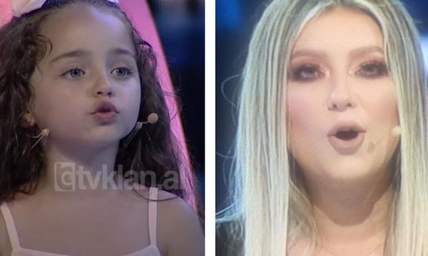 'Gjithë kohës tund byçën', vogëlushja vë në siklet Ronela Hajatin në mes të emisionit