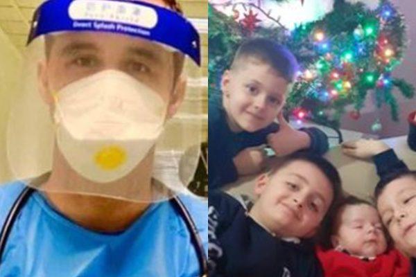 Mjeku shqiptar nuk do festojë me familjen sot/ I uron shqiptarët nga zemra:  Le të jetë një vit i mbarë për të gjithë ne!